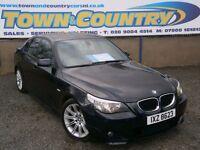 ***2007 BMW 5 Series 535D M SPORT AUTO **FULL LEATHER** ( 520 525 530 535 a4 passat 9-3 octavia a6 )
