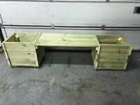 Garden Planters / Bench