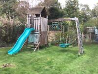 TP climbing frame with slide