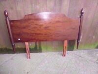 Single Wood Head Board Delivery Available £10