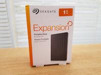 New 1 Terabyte Seagate Portable HD