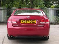 LEXUS GS 450h 3.5 4dr CVT Auto [Leather Pack] (red) 2007