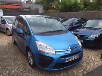 Citroen C4 Picasso 2.0 i SX EGS 5dr£2,499 p/x welcome 6 MONTHS FREE WARRANTY
