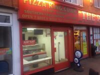 TAKEAWAY A5 HOT FOOD TO LET MODERN SHOP LOW RENT