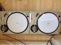 Technics 1200 / 1210 mk2 (silver 1200 version) - no lids