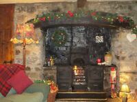 New Year week in charming, traditional quirky, remote countryside Welsh cottage, CONWY, N. Wales