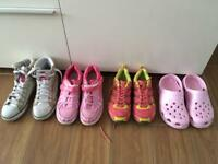Trainers and shoes size 4 and 5