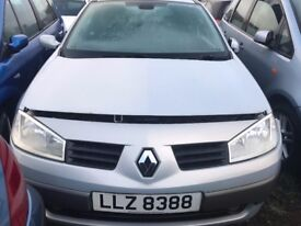 2003 RENAULT MEGANE 1.5 PETROL BREAKING FOR PARTS ONLY POSTAGE AVAILABLE NATIONWIDE