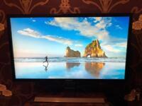 Samsung 4K monitor.