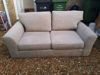 Next grey/beige sofa