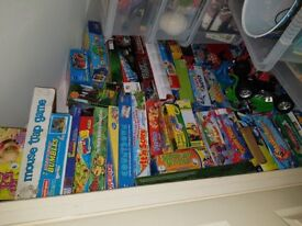Various games and puzzles (at least 45)