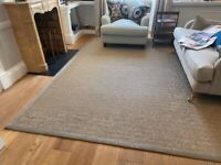 Tanned Sisal Rug 3m x 3m - 50% discount to £900 new price