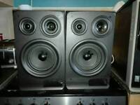 Two eltax speakers very good condition