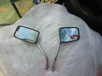 Used CHROME MIRRORS TO FIT THE FOLLOWING YAMAHA