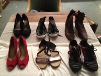 Bulk ladies clothing (size 6-12) and shoes (mostly size 5)
