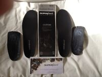 Superfeet Custom Black heat moldable insoles up to sz 8.5uk
