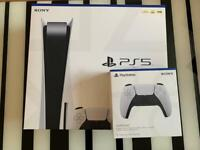 PLAYSTATION 5 DISC ( PS5 DISC) + Extra Controller + BRAND NEW