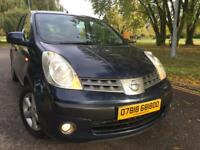 2007 Nissan Note 1.4 manual