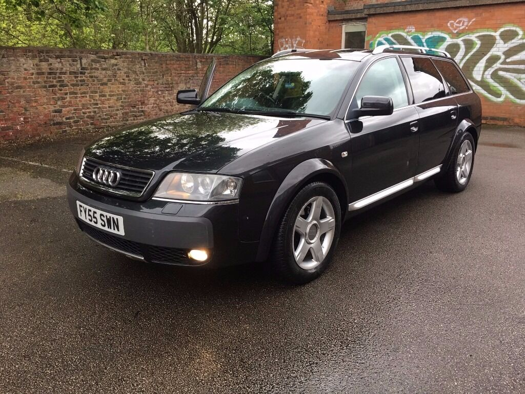 2005 audi a6 allroad 2 5 tdi quattro auto 180bhp black 4x4 xdrive touring estate in hull east. Black Bedroom Furniture Sets. Home Design Ideas