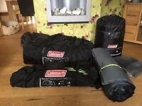Brand new Coleman Mackenzie 6 xl tent with lot of accessories