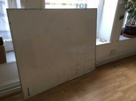 Large Home/Office White Board 1400 X 1200mm