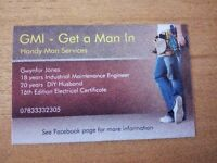 GMI - Get a Man In - Handyman Services.