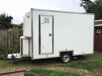 11' x 6' Box Trailer / Ideal Catering Trailer Conversion, Full working order
