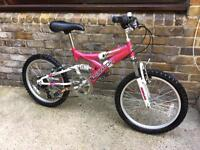 Kind bicycle full suspension full service clean condition