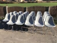 Joblot 30x Cafe Restaurant Coffee shop Chairs eames style furniture