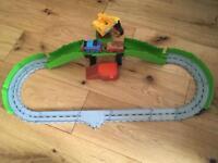Thomas the tank engine train track and talking engine
