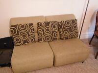 Green 4 Piece Sofa Set