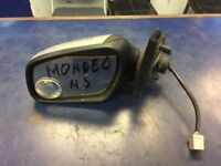 2005 FORD MONDEO PASSENGER LEFT NEAR SIDE ELECTRIC COMPLETE MIRROR SILVER