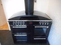 """Stoves"" induction/ceramic hob range cooker...includes cooker hood."