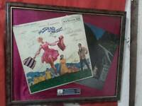 Sound of music signed album