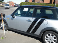 2003 1600cc mini cooper with a brand new MOT and only £1295