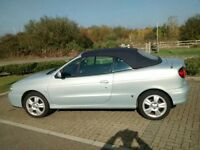 Lovely Renault Megane Convertible Electric Hood. Leather Interior. Full service history