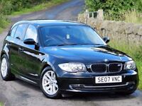 (2007) BMW 1 SERIES 118 SE M SPORT 5DR - ALLOYS - LEATHER - FSH - UPGRADES - TOP SPEC