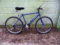 """18 Speed RALEIGH Mountain Bike For Sale. Fully Serviced & Ready To Ride. Guaranteed. 19"""" Frame"""