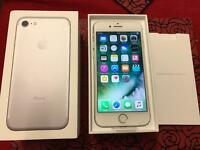 iPhone 7 Brand New Unlocked 32gb silver