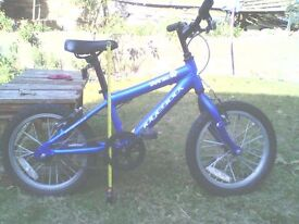 ridgeback childs bike- mx 16, for 5- 8 year old. good condition