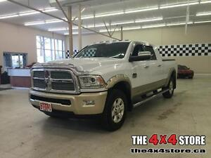 2013 Ram 3500 MEGA CAB LARAMIE LONGHORN LEATHER LOADED 4X4 CUMMI