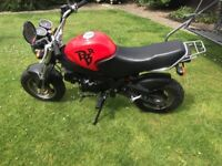 Sky team pbr 125. Good condition. Electric and kick start. Ideal learner or for fun. Mot till 2019