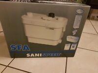 Saniflo Sanispeed Macerator Pump Brand New