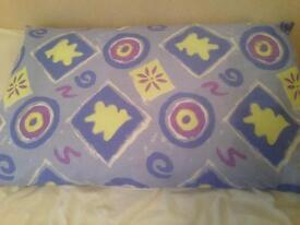 Brand new double duvet cover set with matching pillow cases