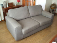 Almost new sofa and 2 chairs.