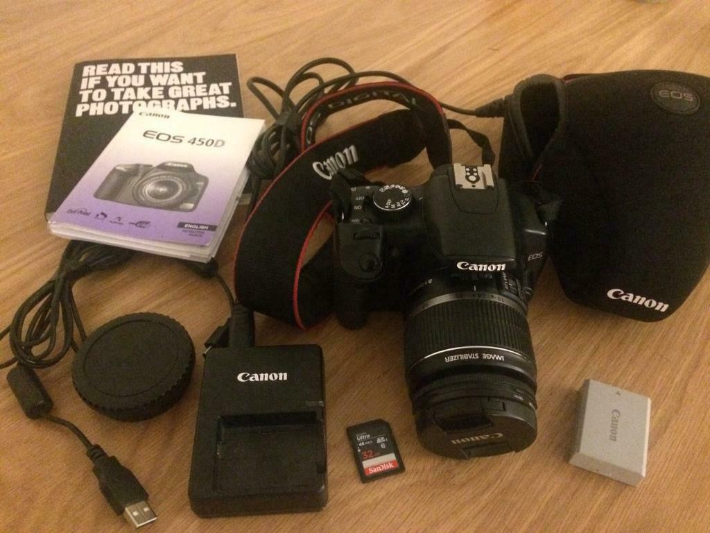 Canon EOS 450D 12 2MP Digital SLR Camera | in Dundee | Gumtree