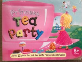 Marks & Spencer Princess tea party tea and book set