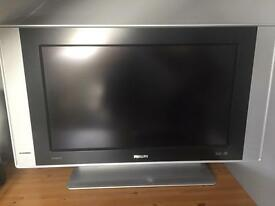 "Philips 26"" flatscreen HDTV"