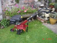 ROTAVATOR CULTIVATOR TILLER......USED ONCE...IMMACULATE...C/W INSTRUCTION BOOKS