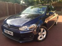 2015 65 Volkswagen Golf Match 1.6 TDI - 1 Owner From New - Low 17,000 Miles - 2 Years VW Warranty